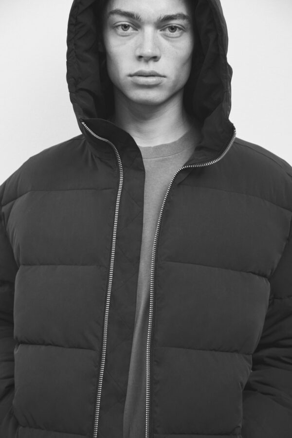 Brevik Down Jacket, Black - 193 - Embassy of Bricks and Logs - Anna Vatheuer Photo - Premium Ethical Outerwear