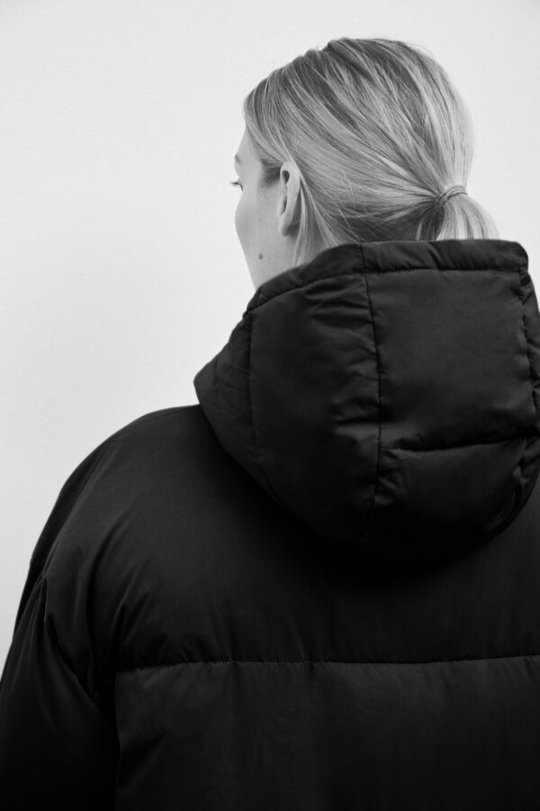 Lyndon Down Jacket, Black - 193 - Embassy of Bricks and Logs - Anna Vatheuer Photo - Premium Ethical Outerwear
