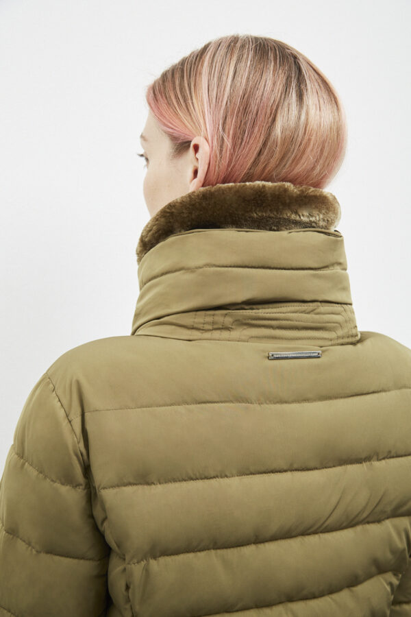 Hamilton Down Jacket, Olive - 193 - Embassy of Bricks and Logs - Anna Vatheuer Photo - Premium Ethical Outerwear