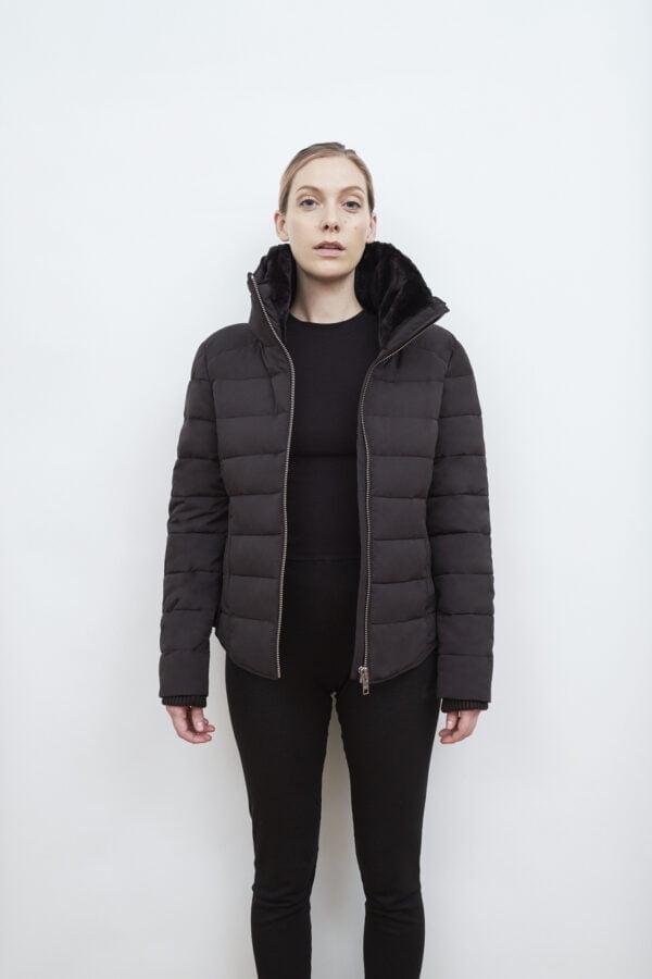 Hamilton Down Jacket, Black - 193 - Embassy of Bricks and Logs - Anna Vatheuer Photo - Premium Ethical Outerwear