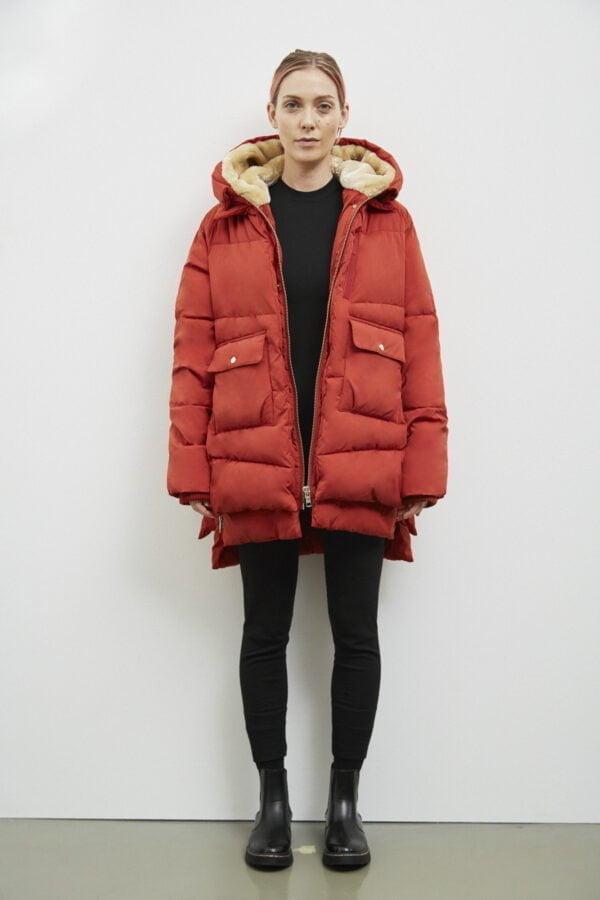 Lyndon Down Jacket, Dark Rust - 193 - Embassy of Bricks and Logs - Anna Vatheuer Photo - Premium Ethical Outerwear