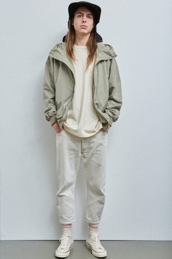 Brooklyn Blouson, Pale Olive - 201 - Embassy of Bricks and Logs - Anna Vatheuer Photo - Premium Ethical Outerwear