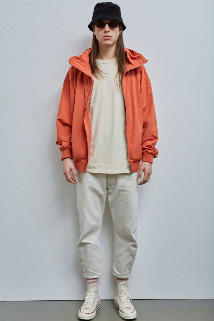 Brooklyn Blouson, Rust Orange - 201 - Embassy of Bricks and Logs - Anna Vatheuer Photo - Premium Ethical Outerwear