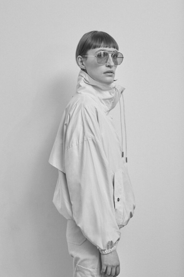 Timaru Windbreaker, Offwhite - 201 - Embassy of Bricks and Logs - Anna Vatheuer Photo - Premium Ethical Outerwear