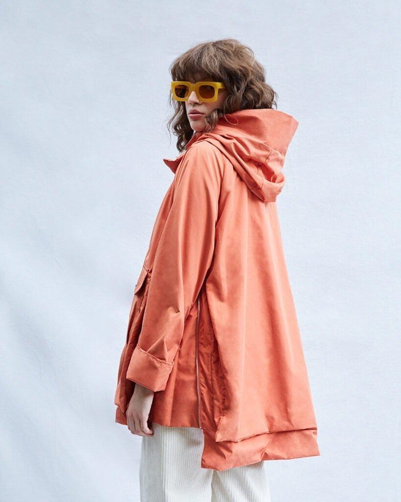 Adelaide Jacket, Rust Orange - 201 - Embassy of Bricks and Logs - Anna Vatheuer Photo - Premium Ethical Outerwear