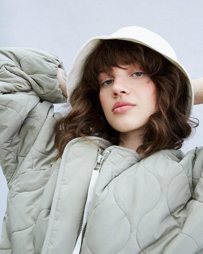Akaroa Jacket, Pale Olive - 201 - Embassy of Bricks and Logs - Anna Vatheuer Photo - Premium Ethical Outerwear