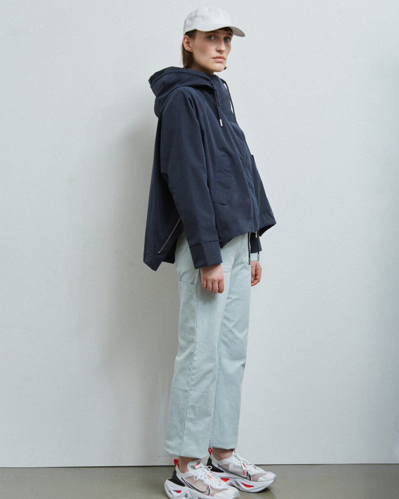 Nelson Jacket, Dark Navy - 201 - Embassy of Bricks and Logs - Anna Vatheuer Photo - Premium Ethical Outerwear