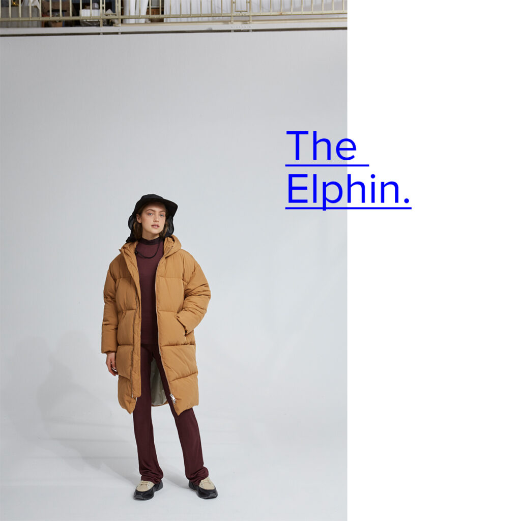 Elphin Down Coat from Embassy of Bricks and Logs - Premium Ethical Outerwear