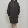 Embassy of Bricks and Logs Belfast Puffer Parka in Black - Vegan Ethical Outerwear