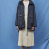 Adelaide Jacket in Dark Navy - Embassy of Bricks and Logs - SS211 - Vegan Ethical Outerwear