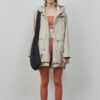 Adelaide Jacket in Simple Taupe - Embassy of Bricks and Logs - SS211 - Vegan Ethical Outerwear