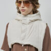 Alvros Hood Offwhite - Embassy of Bricks and Logs - SS211 - Vegan Ethical Outerwear
